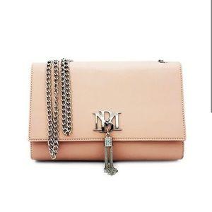 NWT Badgley Mischka Chain Tassel Crossbody Bag NEW